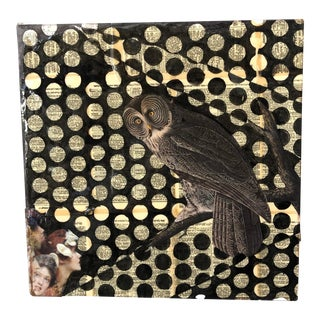 Owl Art Piece For Sale