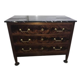 Marble Top French Regency Chest For Sale