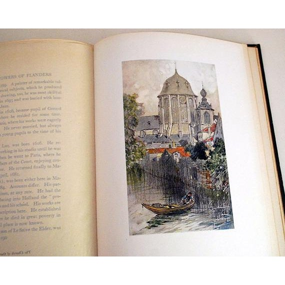 1916 Vanished Towers & Chimes of Flanders, 1st Edition Book For Sale In Saint Louis - Image 6 of 6