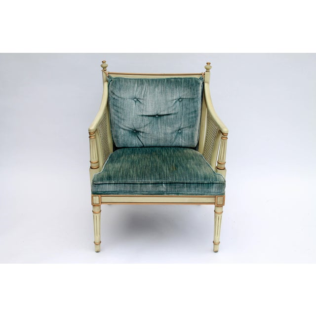 Caned Accent Chair - Image 3 of 9