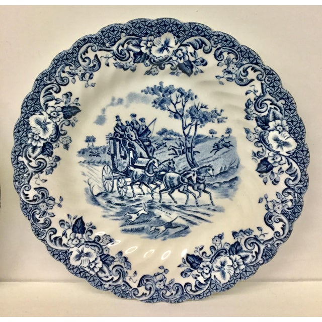 Pretty little plates to use wherever you want a splash of traditional blue and white. In the kitchen or vanity. In...