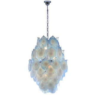 Vistosi Opaline Glass Chandel
