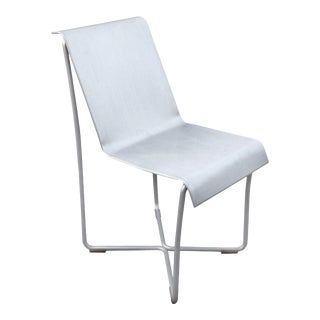 Minimalist Modern Frank Ghery for Emeco Superlight Glider Chair in Brushed Aluminum For Sale