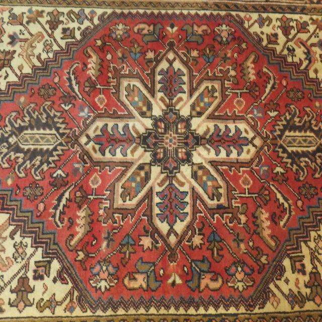 "Persian Heriz Rug - 6'9"" x 4'9"" - Image 3 of 5"