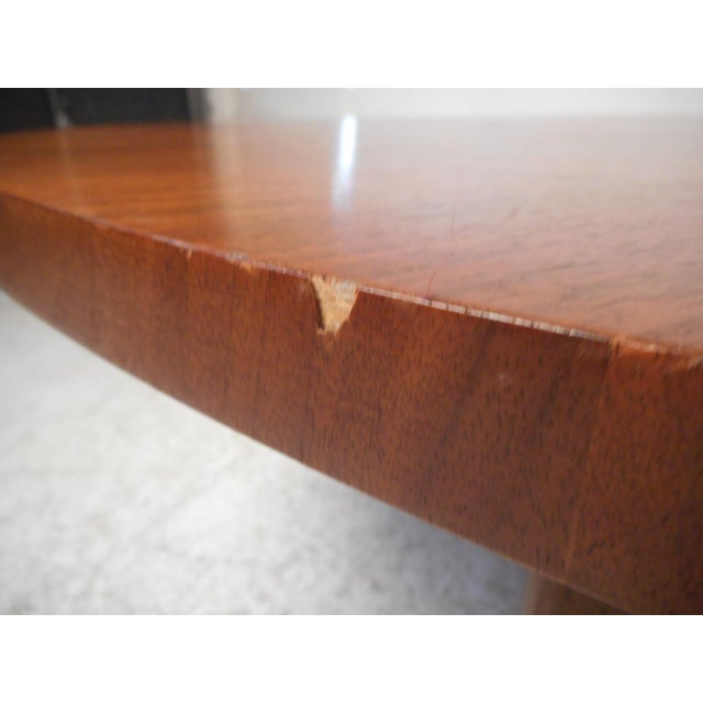 Brown Surfboard Coffee Table For Sale - Image 8 of 13