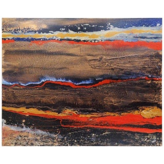 Original Colorful Abstract Painting For Sale