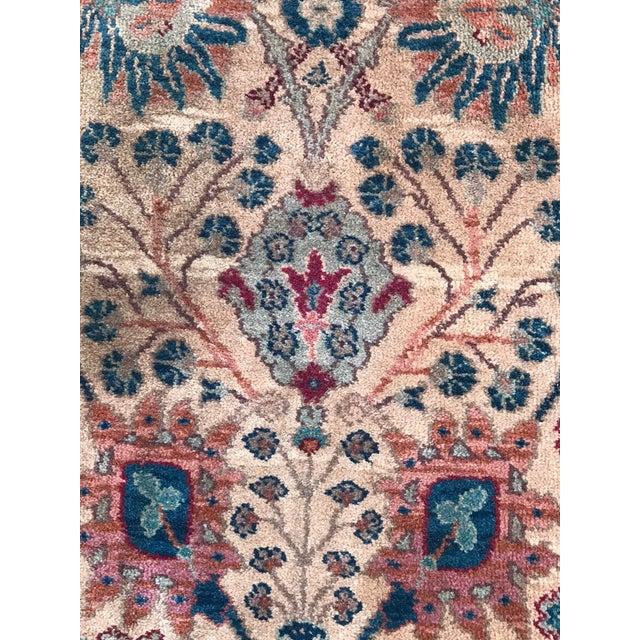 Karastan Wool Samovar Tea Wash Rug-5′9″ × 9′ For Sale In Charleston - Image 6 of 8