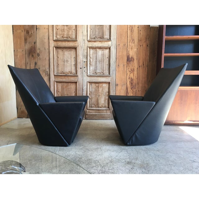 Modern Armilla Arm Chairs and Ottoman by Arflex For Sale - Image 3 of 10