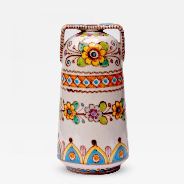 1930s Vincenzo Pinto Classical Style Vase For Sale - Image 5 of 5