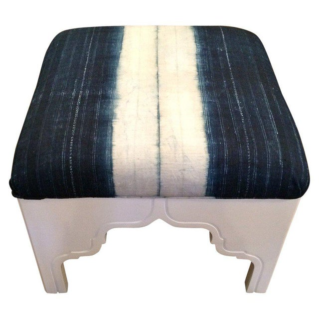 Contemporary Fez Ottoman For Sale - Image 3 of 3