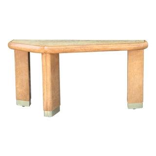 Vintage Memphis Style Console Table For Sale
