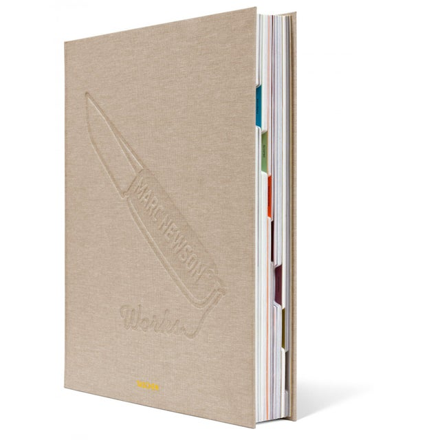 """TASCHEN """"Works"""" by Marc Newson Autographed Collector's Edition For Sale - Image 4 of 10"""