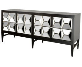 Image of Black Credenzas and Sideboards