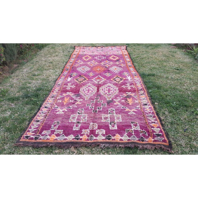 Sourced directly from the Atlas Mountains of Morocco, these one of a kind, handmade rugs are woven by tribal women. Each...