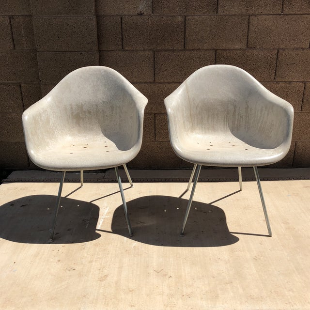 Vintage Eames for Herman Miller Shell Chairs - a Pair For Sale - Image 10 of 10