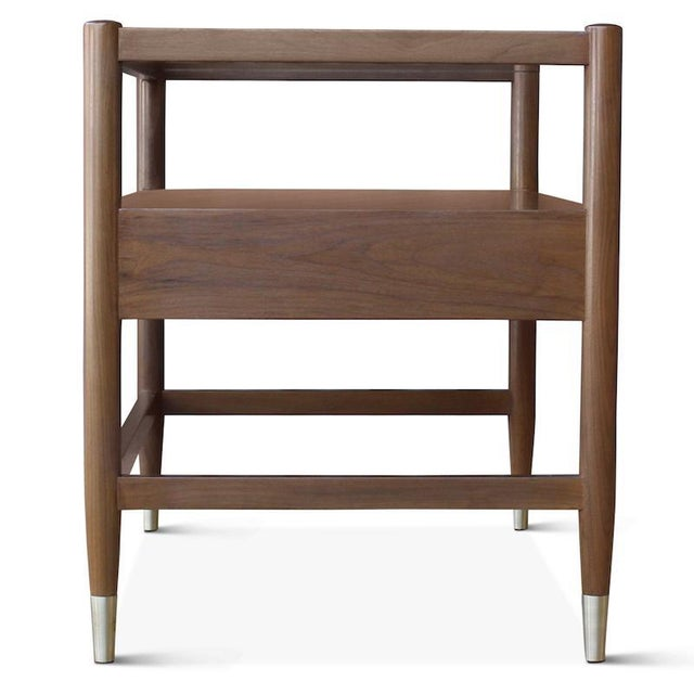 Hollywood at Home Pinto Bedside Table For Sale - Image 4 of 7