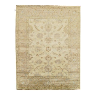 """Traditional Pasargad N Y Original Oushak Design Hand-Knotted Rug - 8'1"""" X 13'5"""""""