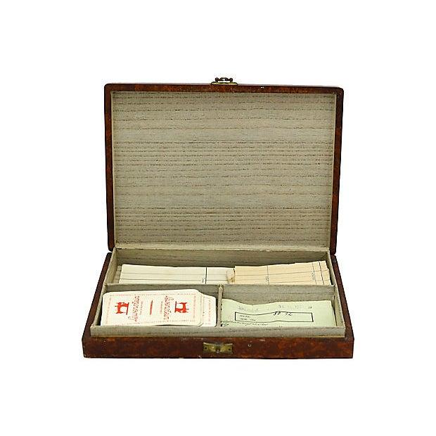 Cottage 1941 German Bridge Players Box For Sale - Image 3 of 5