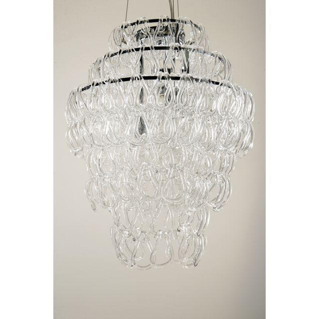 Giogali Style Blown Glass Chandelier - Image 2 of 5
