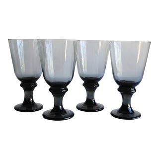 Vintage Grey Goblets, Set of 4