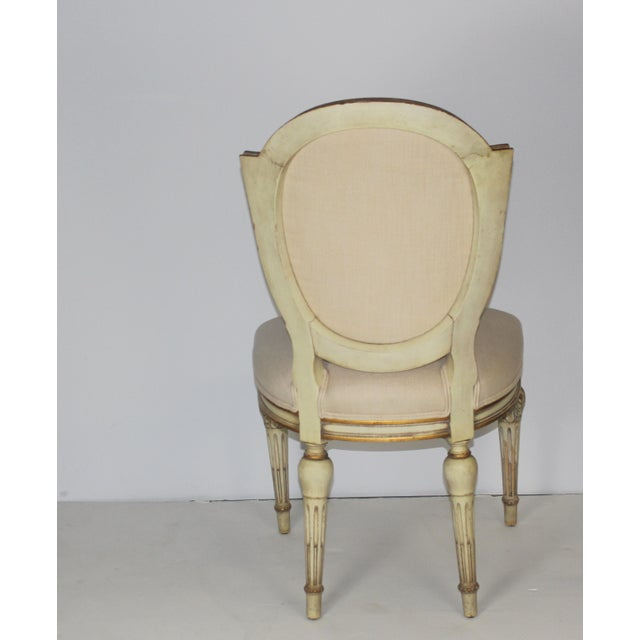 Karges Neoclassical Style Dining Chairs - Set of 6 - Image 5 of 6
