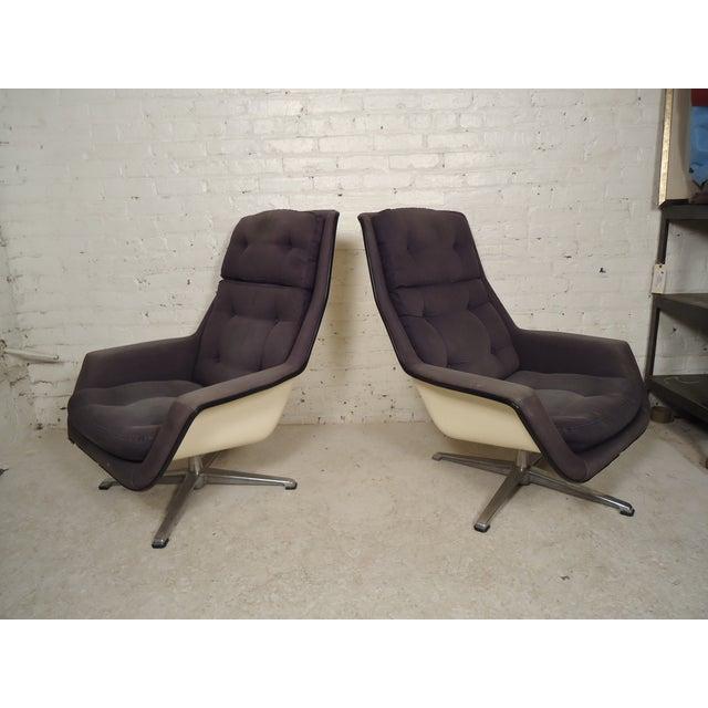 Robin Day Mid Century Fiberglass Chairs