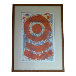 Mid Century Inspired Abstract Print