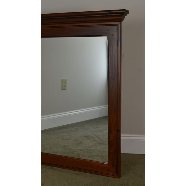 Ethan Allen Country Craftsman Collection Pine Mirror For Sale - Image 11 of 13