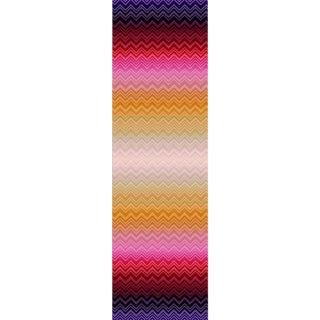 Sample, Scalamandre Zig Zag Sfumato Panel, Fiesta Wallpaper For Sale