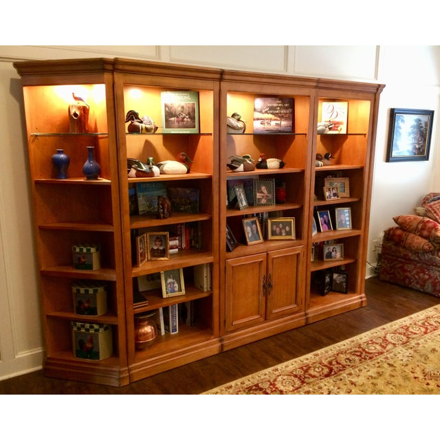Drexel Heritage Drexel Family Room Wall Unit For Sale - Image 4 of 9