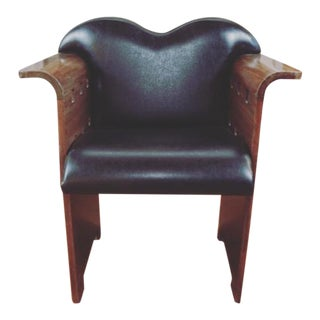 Vintage Mid Century Art Deco Style Armchair For Sale
