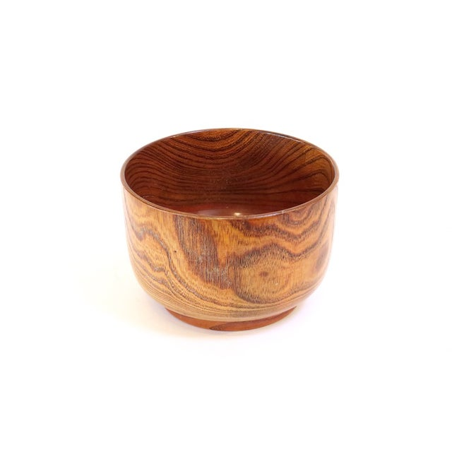 Lacquered Wood Bowl - Image 3 of 5