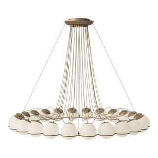 Gino Sarfatti Model 2109/24/14 Chandelier For Sale