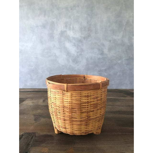Jungalow Style Small Rattan Basket - Image 5 of 6