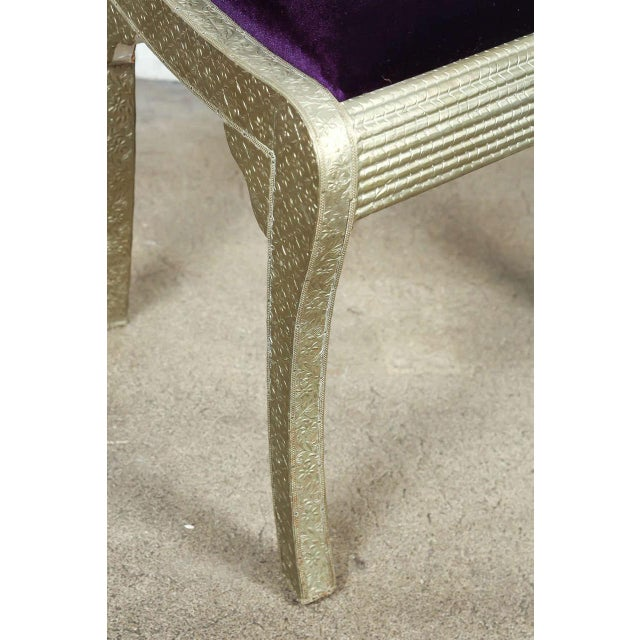 Anglo-Indian Anglo Raj Wedding Side Chair For Sale - Image 3 of 8