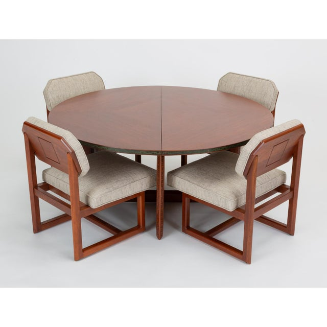 """Frank Lloyd Wright """"Taliesin"""" Game Table With Four Chairs For Sale - Image 13 of 13"""