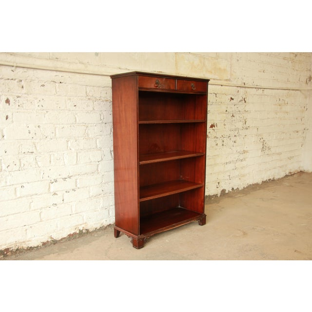 Vintage Imperial Mahogany Bookcase - Image 2 of 8