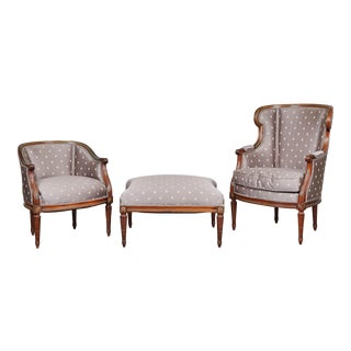 18th C. French Duchesse en Brisee - 3 Pc. Set For Sale