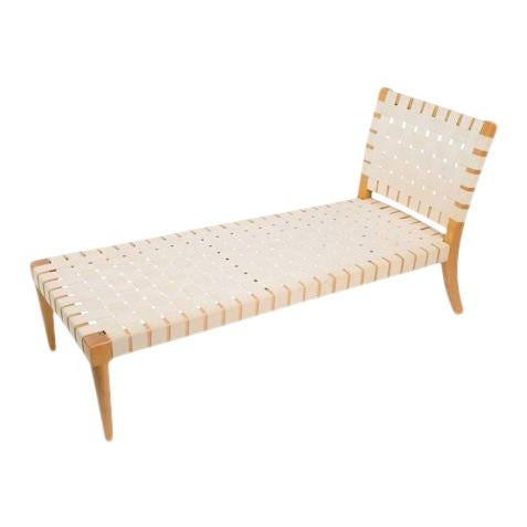 Modern Vicente Wolf Niedermaier Custom Chaise Lounge For Sale