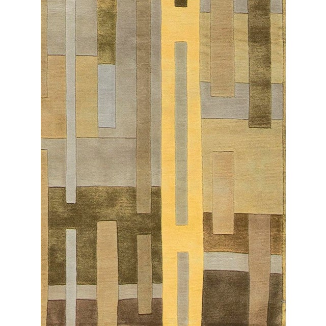 Contemporary Contemporary Hand Woven Rug - 4'10 X 7'9 For Sale - Image 3 of 4