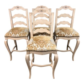 Chaddock Ferguson Copeland Bar Stools- Set of Four For Sale