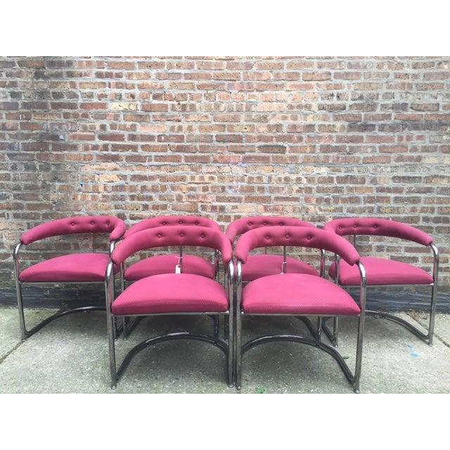 Vintage Thonet Anton Lorenz Chairs - Set of 6 - Image 2 of 11