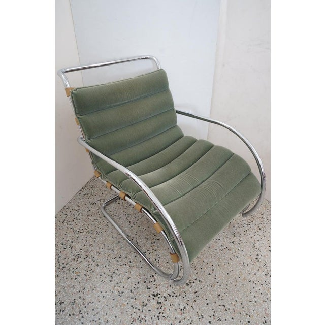 Vintage Art Deco Mies Van Der Rohe Lounge Chair by Gordon International For Sale - Image 10 of 13
