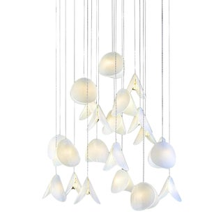 Residential Shell II Chandelier For Sale