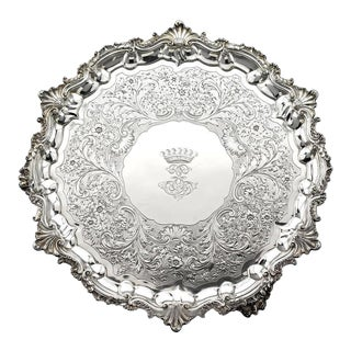 William IV Silver Tray by Paul Storr