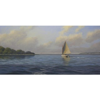 Ronald Tinney, Breezy Afternoon Painting, 2018 For Sale