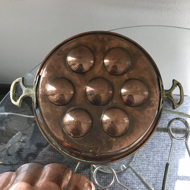 Copper Escargot Kitchen Collection - Set of 7 For Sale - Image 5 of 8