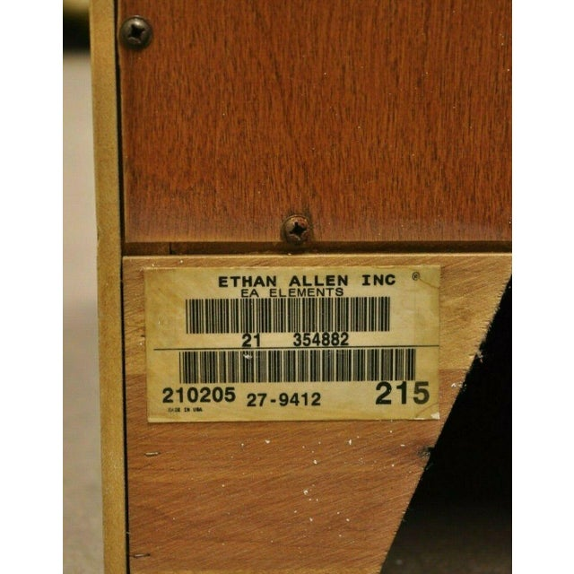 Ethan Allen Elements Maple Bookcase-a Pair For Sale - Image 10 of 13