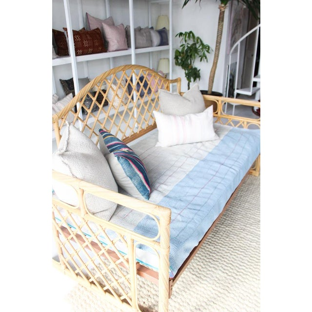 Rattan Daybed Frame For Sale In Dallas - Image 6 of 11