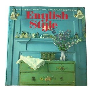 """English Style"" Coffee Table Book For Sale"